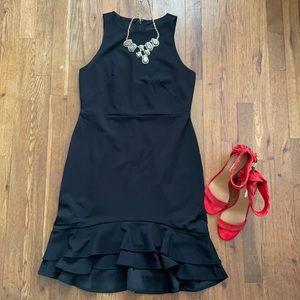 ANN TAYLOR Petite Black Dress